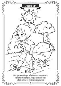 Dibujos Para Colorear Cristianos Con Versiculos Para