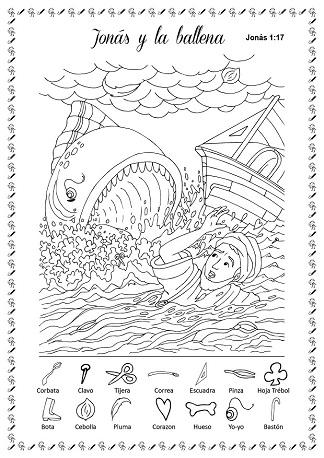 Lujoso Jonah Hoja Para Colorear Embellecimiento - Dibujos de ...