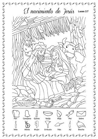 Desafío Bíblico Figuras Escondidas Chrismaralondracom