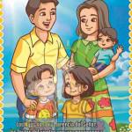poster cristiano - la familia