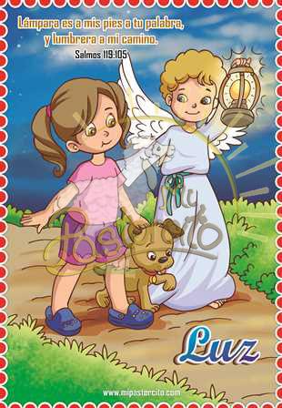 poster cristiano - luz