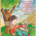 poster cristiano - paz